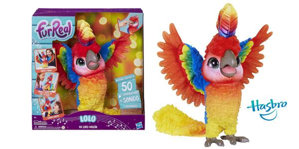 Lolo, mi Loro Molón de Furreal Friends (Hasbro E0388105) barato en Amazon