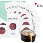 Lote San Jamón Segovia 10 sobres jamón serrano reserva x100gr + queso Manchego viejo San Bernardo 880gr barato en eBay