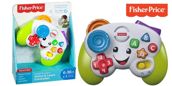 Mi primer mando de consola Ríe y Aprende de Fisher-Price para bebé +6 meses barato en Amazon