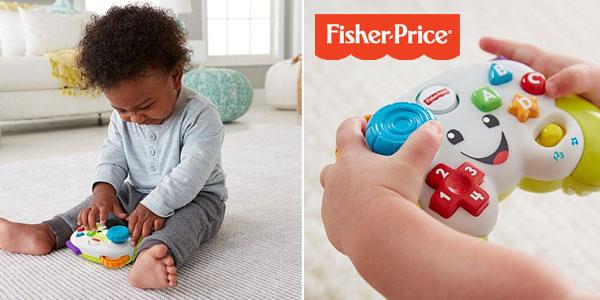 Mi primer mando de consola Ríe y Aprende de Fisher-Price para bebé +6 meses chollo en Amazon