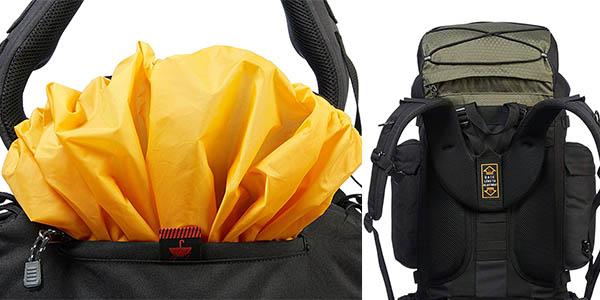 mochila AmazonBasics para viajes y senderismo con relación calidad-precio estupenda