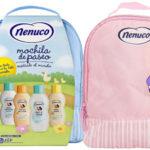 Nenuco Pack Regalo Bebé mochila de paseo rosa o azul barato en Amazon