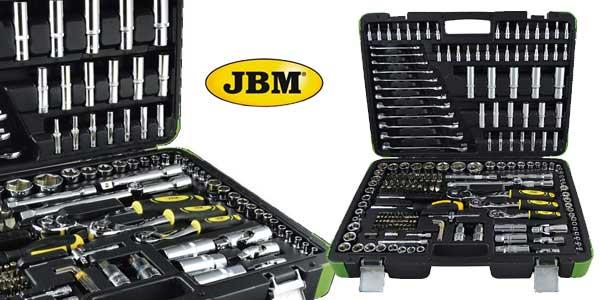 Pack de 216 Piezas JBM 52840 con vasos hexagonales en estuche barato en Amazon
