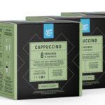 Pack 3 Paquetes de 16 cápsulas Café Capuccino Happy Belly barato en Amazon