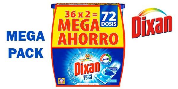 Dixan Duo-Caps Detergente en Cápsulas 72 Lavados barato en Amazon