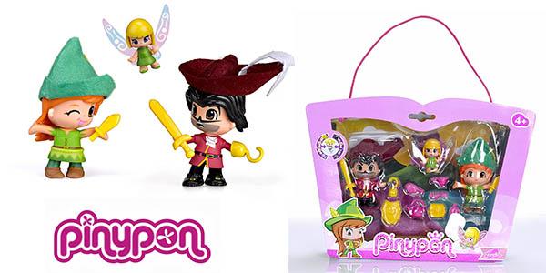 Pinypon Peter Pan Campanilla Garfio set para niñ@s oferta