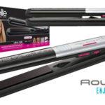 Plancha alisadora y rizadora 2 en 1 Rowenta Liss & Curl SF4522F0 barata en Amazon