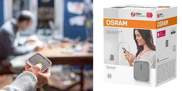 pulsador inalámbrico Osram Smart chollo