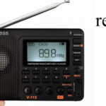 Radio Portátil digital Retekess V115 barata en Amazon