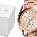 Reloj analógico de cuarzo Michael Kors MK5503 Bradshaw para mujer barato en Amazon