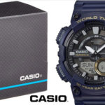 Reloj analógico digital Casio Collection AEQ-110W-2AVEF azul para hombre  barato en Amazon 2da6f657be12