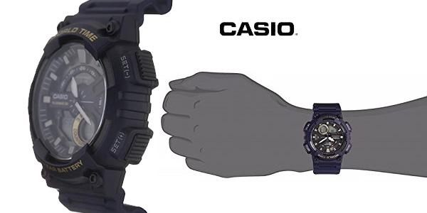 570a9b2a0712 Reloj analógico digital Casio Collection AEQ-110W-2AVEF azul para hombre  chollo en Amazon