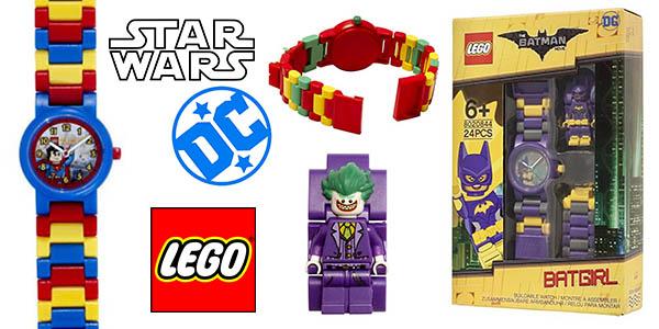 5e031635d9bc Chollazo Relojes LEGO colecciones Superhéroes y Star Wars por sólo ...