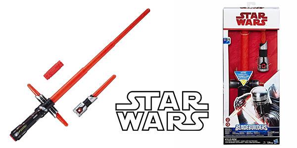 sable electrónico Star Wars Kylo Ren Hasbro barato