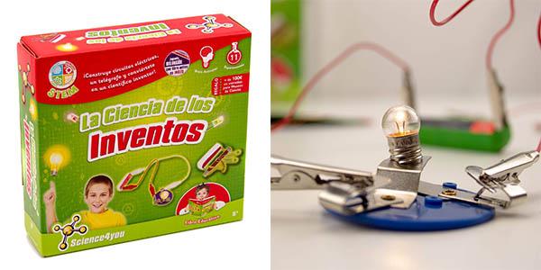 Science4you La ciencia de los inventos juego educativo barato