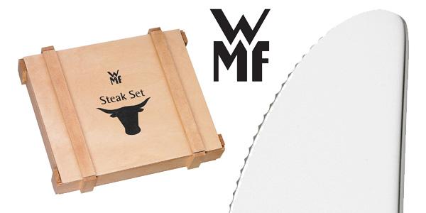 Juego cubertería de 12 piezas WMF para carne chollo en Amazon
