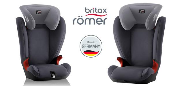 3bf8d756d0ae8 Silla de coche grupo 2 3 Britax Römer Kid II Black Series Storm Grey barata
