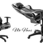Silla oficina gaming McHaus OFS3200 gris barata en eBay