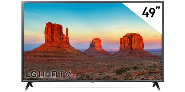 Smart TV LG 49UK6300 UHD 4K HDR de 49''