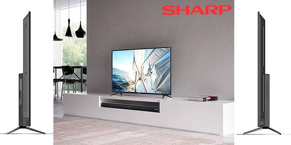 "Smart TV Sharp LC-43UI7252E UHD 4K de 43"" barata"