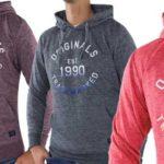 Sudadera con capucha Jack & Jones 21050 para hombre barata en eBay
