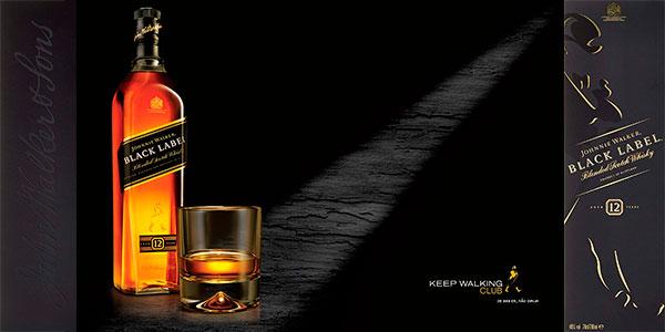 Whisky Johnnie Walker Black Label de 700 ml barato