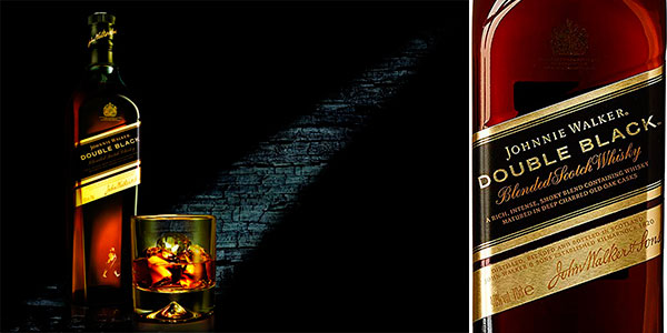 Whisky Johnnie Walker Double Black de 700 ml barato