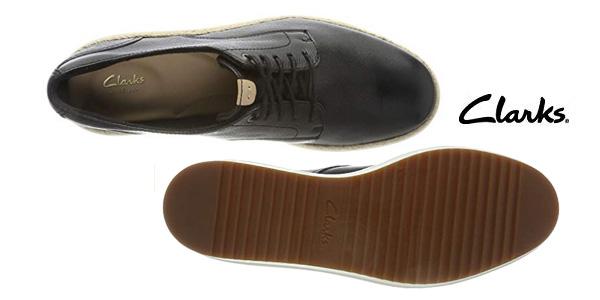 Zapatos de cordones Clarks Teadale Rhea para mujer chollo en Amazon