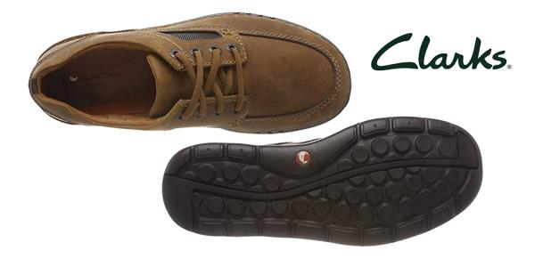 Zapatos de cordones Clarks Unnature Time para hombre chollo en Amazon
