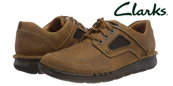Zapatos de cordones Clarks Unnature Time para hombre baratos en Amazon