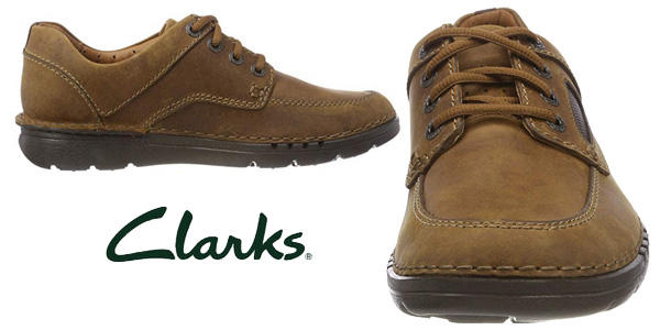 Zapatos de cordones Clarks Unnature Time para hombre chollazo en Amazon