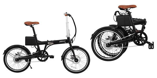 ¡Corre! Bicicleta eléctrica plegable 299 euros (-57% desc.)