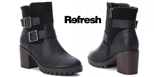 Botines Refresh Callie negros para mujer baratos en ebay