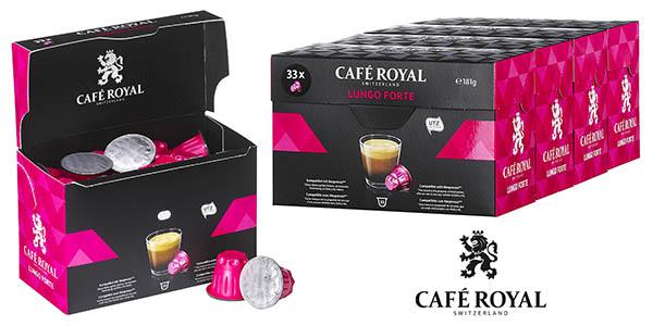 Café Royal Lungo Forte cápsulas compartibles con Nespresso oferta