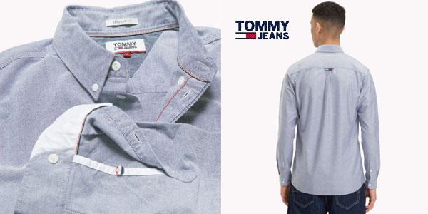 Camisa Oxford Tommy Classics para hombre chollazo en Amazon