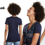 Camiseta Desigual Vicent para mujer barata en Amazon