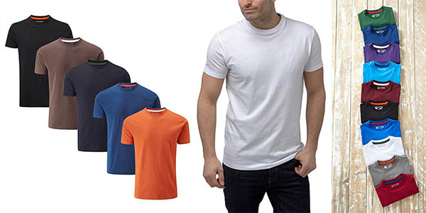 camisetas básicas Charles Wilson oferta