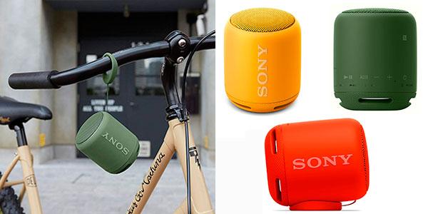Altavoz Sony SRS-XB10 portátil e inalámbrico con Bluetooth y NFC en oferta