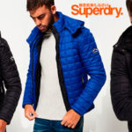 Chollo Cazadora Superdry Fuji con capucha para hombre