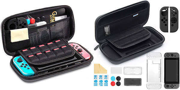 Chollo Funda iAmer para Switch con 11 accesorios