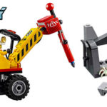 Chollo Set Mina: Martillo hidráulico de LEGO City con 2 minifiguras