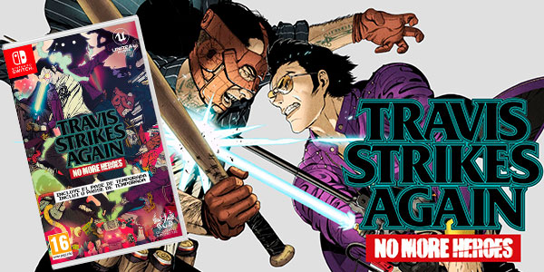 Reserva Videojuego No More Heroes: Travis Strikes Again para Switch