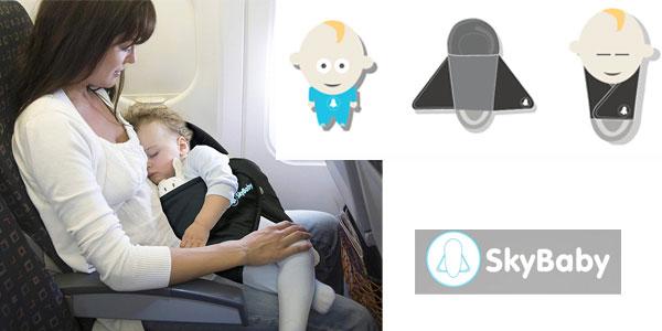 SkyBaby Colchón de viaje para viajes en avión chollazo en Amazon