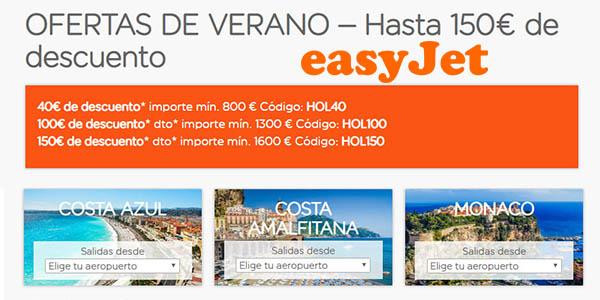 easyJet promoción vacaciones de verano enero 2019