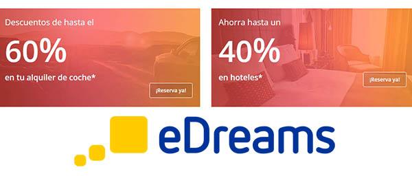eDreams promoción viajes con descuento febrero 2019