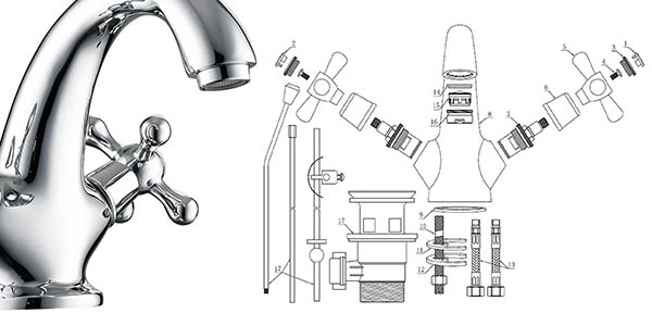 EISL Nostalgie II grifo mezclador lavabo chollo