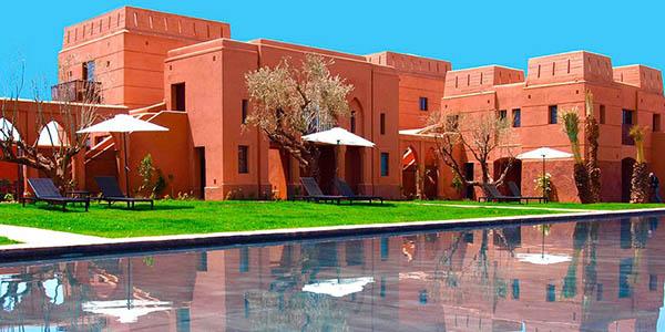 escapada con alojamiento en media pensión Marrakech oferta