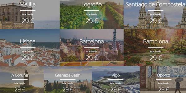 Iberia vuelos baratos rebajas enero 2020
