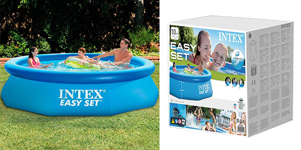 Chollazo piscina hinchable intex easy set con depuradora por s lo 27 88 60 de descuento - Depuradora piscina hinchable ...