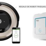 iRobot Roomba E5 barato en El Corte Inglés + Robot Friegasuelos Braava Jet 240 de regalo